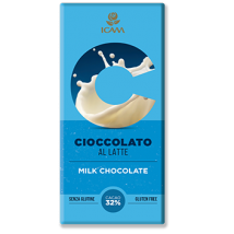 cioccolato al latte senza glutine