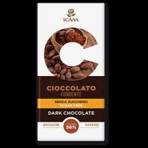 cioccolato fondente sf